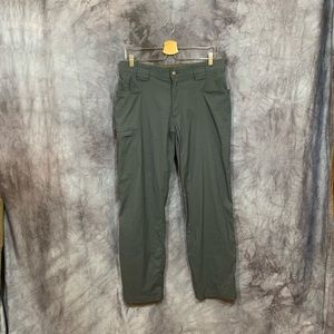 Duluth Trading Gray Flex Dry On The Fly Pant 34x30